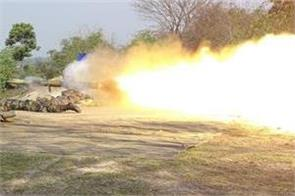 successful test of anti tank guided missile