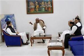 after discussions with rahul gandhi jds chief devgowda