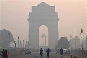 increased pollution in delhi with dusty winds from afghanistan