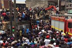 a building collapses in lagos many suspected of casualty