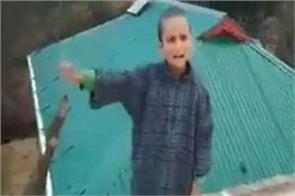 hindustan love showing kashmiri child s poem video viral on social media