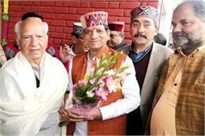 kishan kapoor met from shanta in palampur