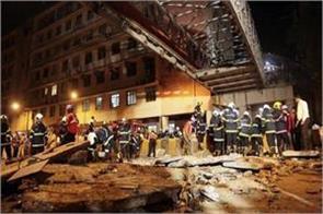 mumbai bridge accident two engineers suspend bmc