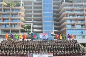 indo bangladesh joint military exercise begins