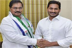 tdp formed candidate after a few hours joined former ysr minister