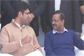 aap and jjp may announce today s alliance