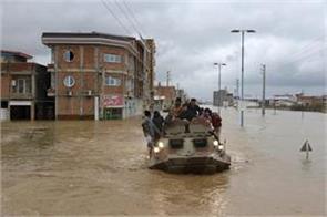 deadly floods in iran kill 70 people