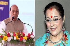off the record poonam sinha against rajnath from lucknow