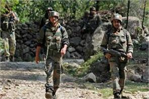 j k encounter in anantnag two terrorists piled by security forces