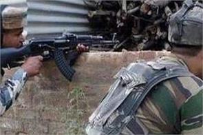encounter underway between security forces and terrorists in shopian