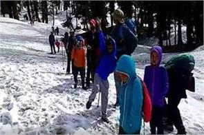 13 children of 5 7 years have done a 12500 feet peak
