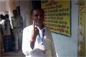 nda candidate vijay manjhi polled by gaya