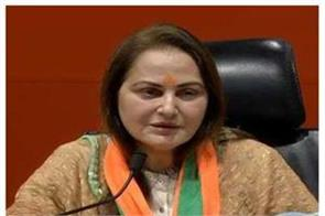 jaya prada s excuse of pain said misbehave in sp with did not have any