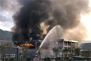 17 more detained over china chemical blast