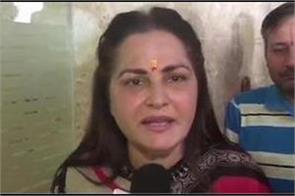 jayaprada gave advice to mayawati