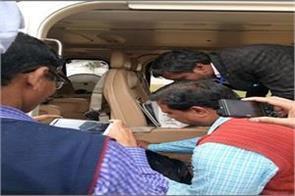 flying team checks rajnath singh helicopter