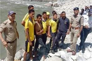 police and sdrf save the youth