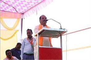 cm raghubar target rahul hemant said  what is born spoon of gold poverty