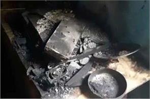 death of three innocent people in badaun tv blast