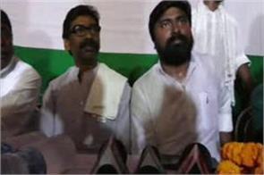 people will work to overthrow bjp in lok sabha election hemant soren