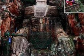china world s biggest buddha statue reopens to tourists after 6 months