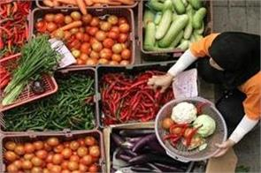 wpi inflation spikes to 3 18 pc in march on costlier food fuel