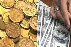 rupee drops 23 paise against dollar in early trade