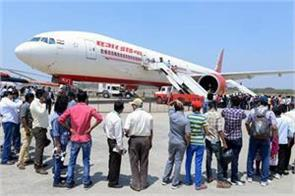 air india passengers continue for the second day delayed 137 flights