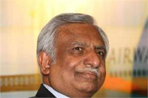 naresh goyal opts out from bidding for ailing jet airways