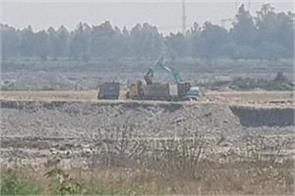 illegal mining in kathua continue