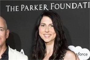 mackenzie bezos to become world 4th richest woman in divorce settlement