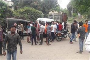 jharkhand two fast speed bikes collided in bokaro two killed in accident
