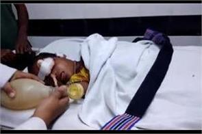5 year old girl bullet shot in harsh firing