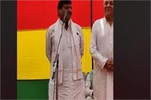 shivpal made a simple target on akhilesh