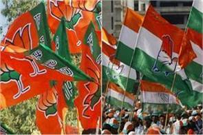 bjp congress claim winning victory