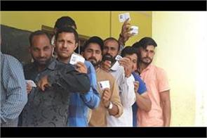 people of loc vote for democracy