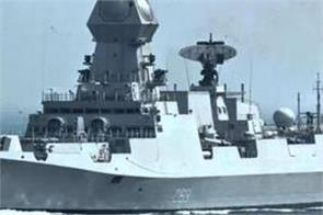 two indian naval ships to take part in chinese navy s 70th anniversary