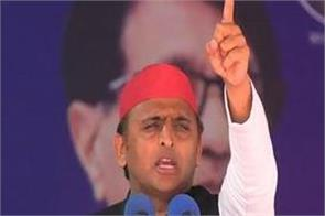 akhilesh yadav s claim  work stopped being sick bjp
