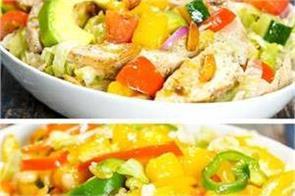 2 ways mango salad