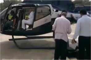 ec flying squad checks luggage of former karnataka cm yeddyurappa