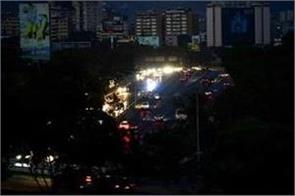 venezuela  country blackout drags continue
