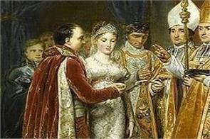 napoleon wedding took place in notredame
