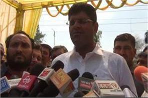 dushyant chautala commented on bjp sankalp patra