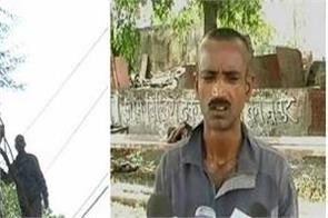 a young man escaped from the house made on the tree named hawa mahal