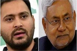 nitish kumar wants to merge jdu with congress tejashwi yadav