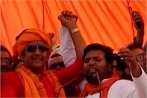 ravi kishan did win the gorakhpur seat claiming