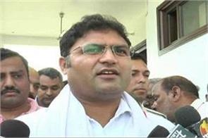 ashok tanwar commented on bjp and inld