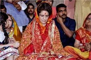 priyanka not contesting from varanasi