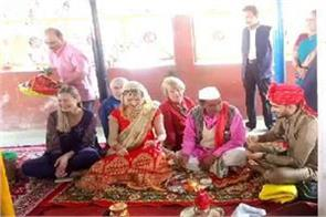 prabhat of uttarkashi and of elena of russia got married