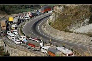 civil traffic starts on jammu srinagar highway